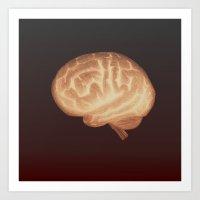 Organics II (digital version) Art Print