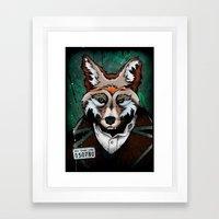 The Usual Suspects // Bad Frank Lynn Framed Art Print