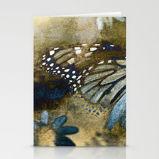 fragile earth+sky Stationery Card