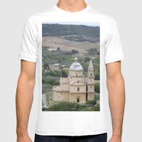 Montepulciano d'Abruzzo Mens Fitted Tee White SMALL