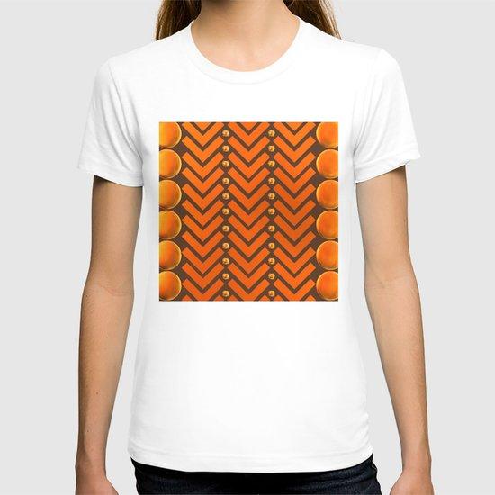 Gold Patterns T-shirt