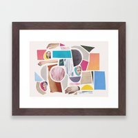 Stuff Framed Art Print