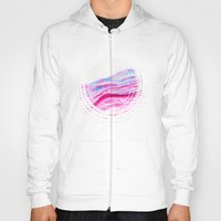 AGATE Inspired Watercolor Abstract 08 Hoody