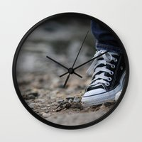 Converse Wall Clock