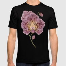 Wild Orchid SMALL Mens Fitted Tee Black