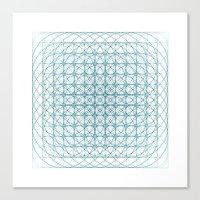 #436 Vortex – Geometry… Canvas Print