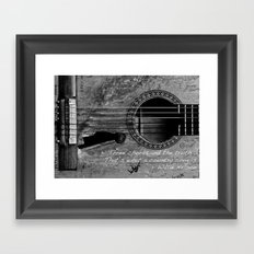 Country Music Framed Art Print