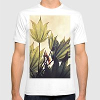 full moon maple no.1 Mens Fitted Tee White SMALL