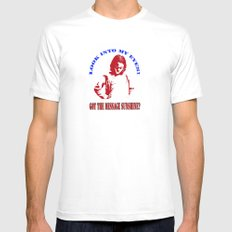Tshirts 1 Mens Fitted Tee White SMALL