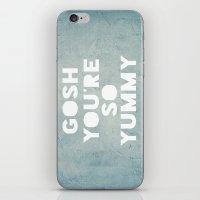 Gosh (Yummy) iPhone & iPod Skin