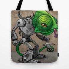Chameleozoid Tote Bag