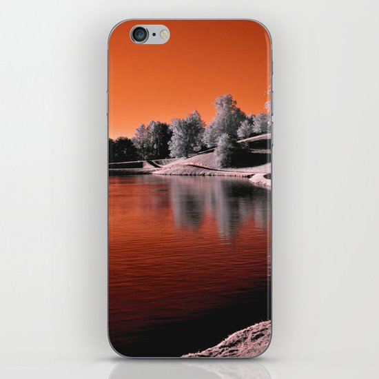 Infrared Sunrise iPhone & iPod Skin
