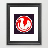 The Symbol #II Framed Art Print