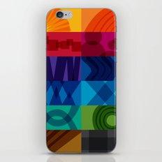 2013 Pigment to Pantone Calendar iPhone & iPod Skin