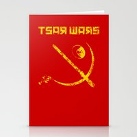 Tsar Wars Stationery Cards