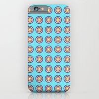 iPhone & iPod Case featuring Tania Circle Repeat by Ellie And Ada