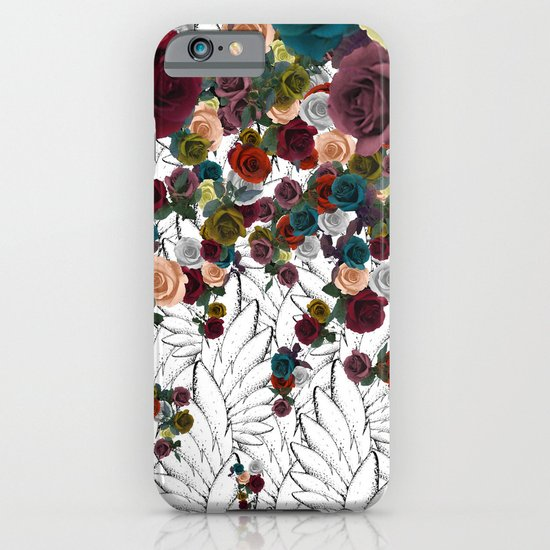 falling flowers iPhone & iPod Case