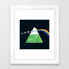 Prismountain Framed Art Print