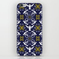 Doves Patterns iPhone & iPod Skin