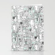 Kitchen Town Stationery Cards