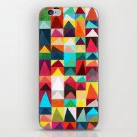 Abstract Geometric Mountains iPhone & iPod Skin