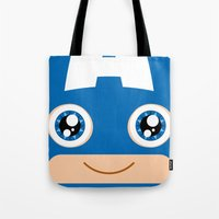 Adorable Captain Tote Bag