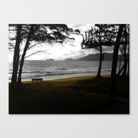 Canvas Print featuring Bench... by EyeDon'tKnow