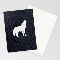 Jeans dog Stationery Cards