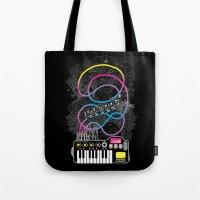 Music Coaster Tote Bag