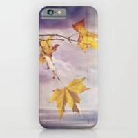Faded Leaves - JUSTART �… iPhone 6 Slim Case