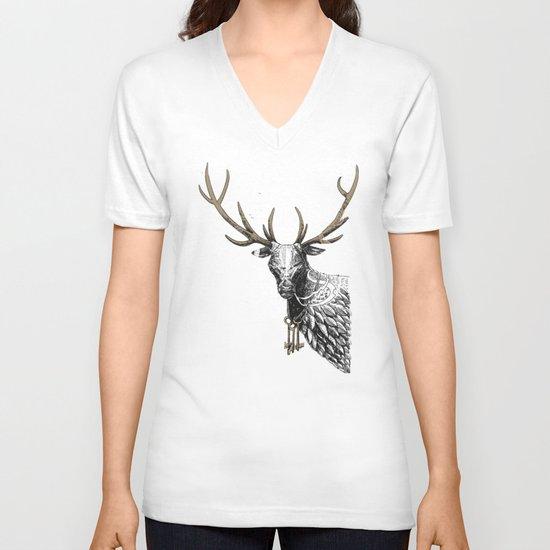 Oh Deer! Light version V-neck T-shirt