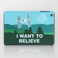I WANT TO BELIEVE - Star Wars iPad Case