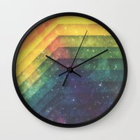 Time & Space Wall Clock