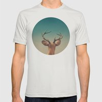 Stargazer  Mens Fitted Tee Silver SMALL