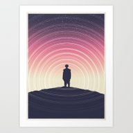 The Girl Who Lived Art Print