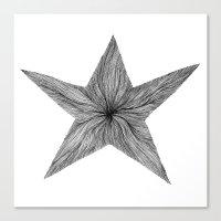 Star Jelly I B&W Canvas Print