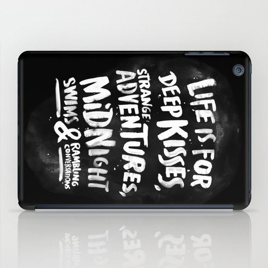 Life is for deep kisses... iPad Case
