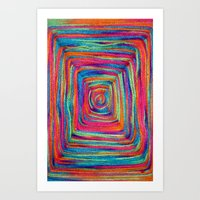 Colorful Yarns - For Iph… Art Print