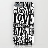CHOOSE LOVE iPhone 6 Slim Case