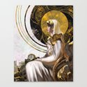The Analog Queen Canvas Print