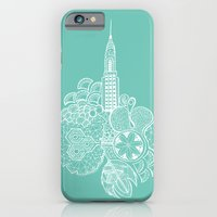 iPhone & iPod Case featuring NYC by bodkin5