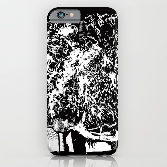 Burning Monk iPhone & iPod Case