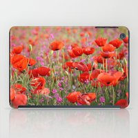 Poppies in Spring iPad Case