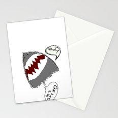 am i scary yet? Stationery Cards