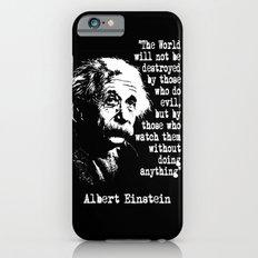 Albert Einstein iPhone 6s Slim Case