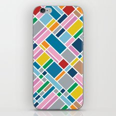 Map Outline 45  iPhone & iPod Skin