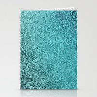 Detailed Zentangle Squar… Stationery Cards
