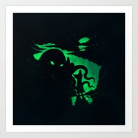 Summon Art Print