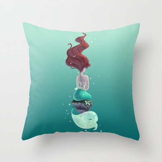 Wish I Could Be Throw Pillow