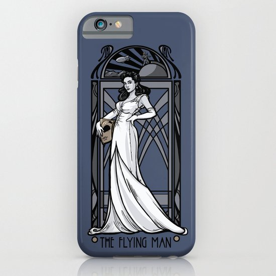 The Flying Man iPhone & iPod Case